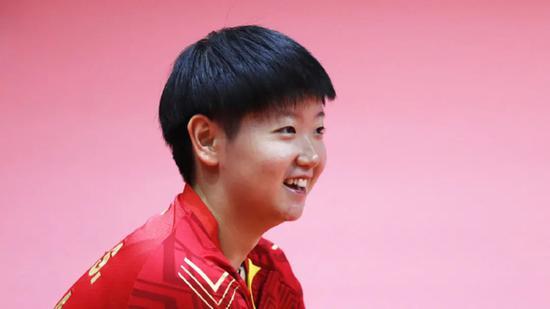 【博狗扑克】孙颖莎:延期的每一天都当两天用 全力以赴冲奥运