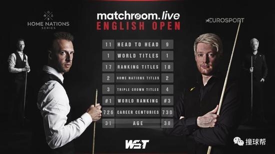 英格兰赛特鲁姆普决胜局破百绝杀 获排名赛第18冠