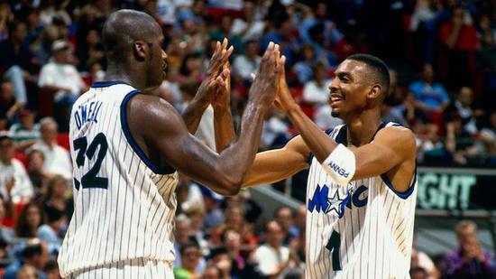 奥尼尔评NBA五大双人组 十年六冠组合仅排第二