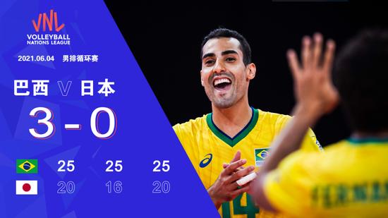 世联法国男排轮换主攻遭逆转 巴西男排零封日本