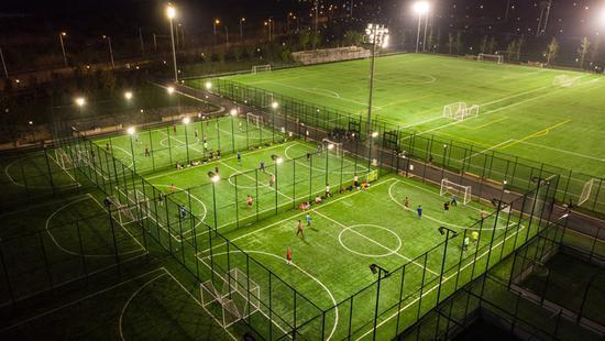 浦東足球場本月將啟用 虹口足球場十四五期間將改造