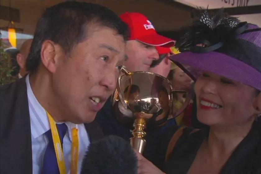 吴国树赢得墨尔本杯