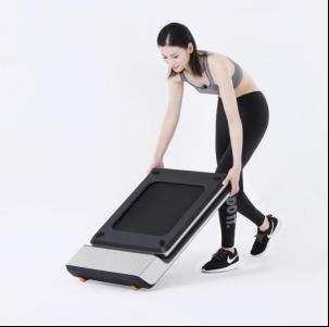 WalkingPad走步机可以滚轮移动