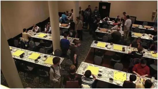 2012年美国做事棋手定段资格赛,纽约比赛现场
