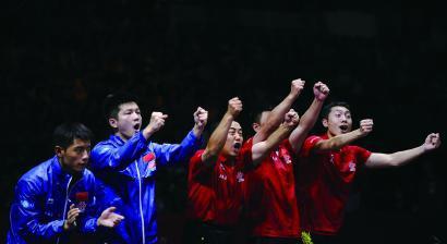 世界乒乓需要中國,中國乒乓也需要世界 圖 新華社