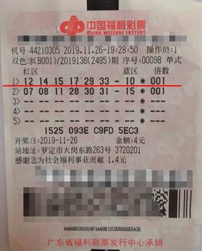 80后小夫妻喜提双色球二等49万:随手写下的号码