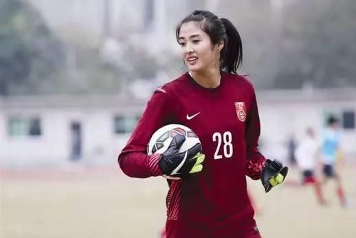 中国女足最美门将赵丽娜