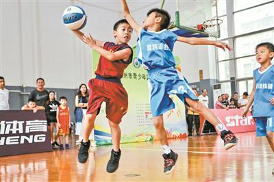 籃球項目培訓備受歡迎。