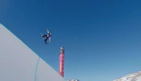 单板滑雪U型池美国公开赛 蔡雪桐创历史首次夺冠