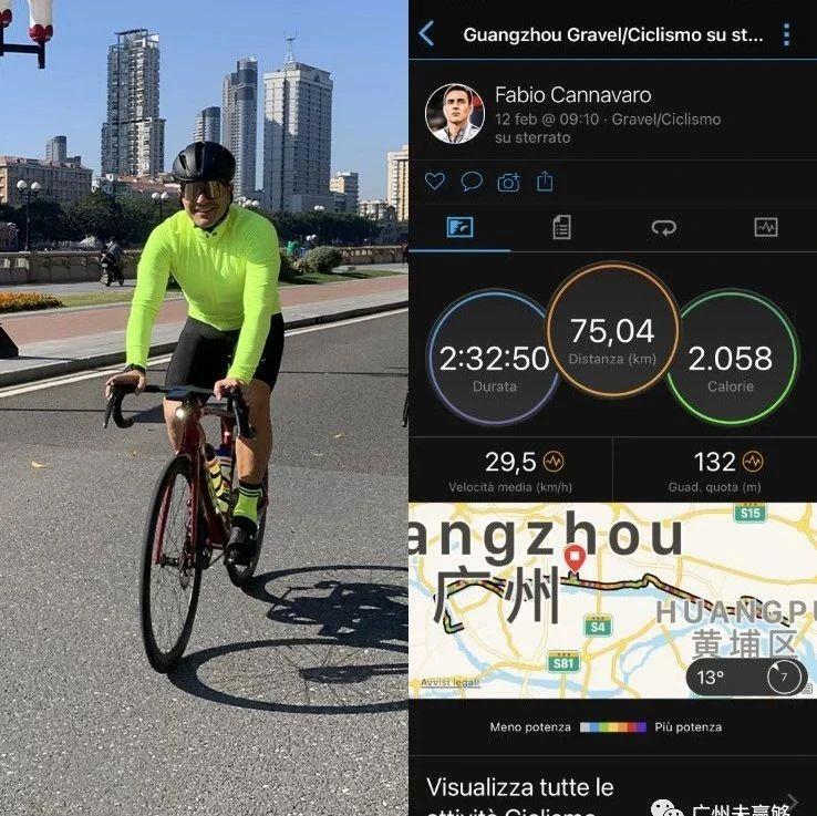 卡纳瓦罗骑行75公里 高拉特健身室挥汗