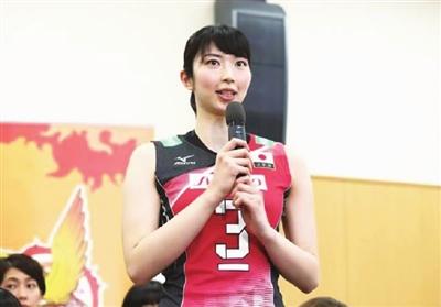 日本女排国旗下发誓:亚运会的目标就是夺取金牌