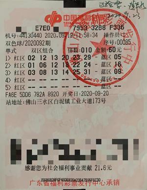 新手彩民复制上期号码中双色球155万:无贷一身轻