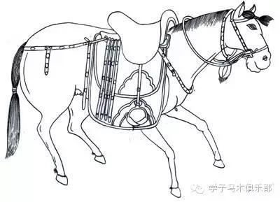 古代战马的马具