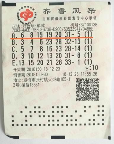 """彩友守""""顺眼""""号2年揽福彩625万 庆幸没弄丢奖票"""