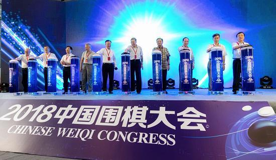 2018中国围棋大会开幕式现场 刘昊摄