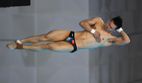 中国跳水展现恐怖力量 四大奥运冠军选拔赛全败