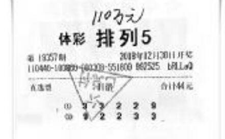 货车司机44元中体彩110万:打算回老家盖别墅