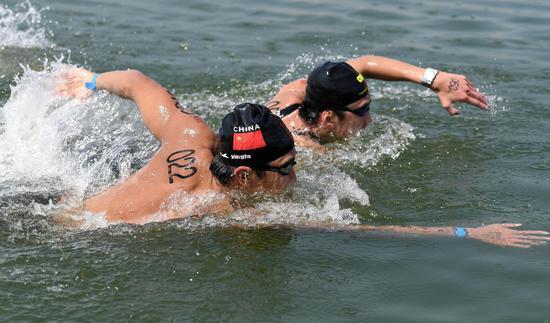 全国马拉松游泳冠军赛暨东京奥运会选拔赛开赛