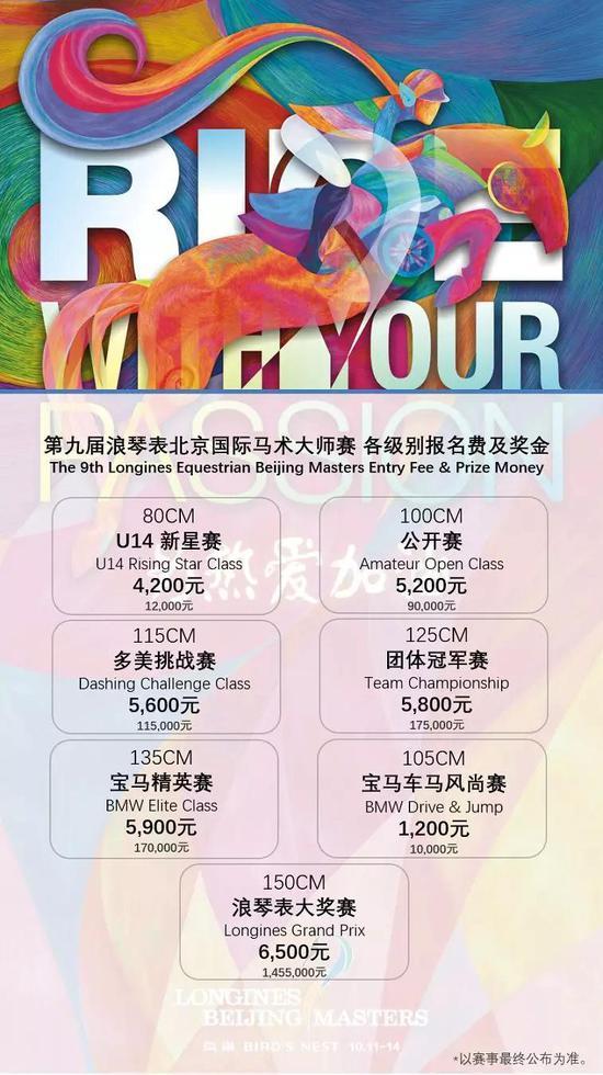 第hg0088皇冠新2网址届浪琴外北京国际马术行家赛