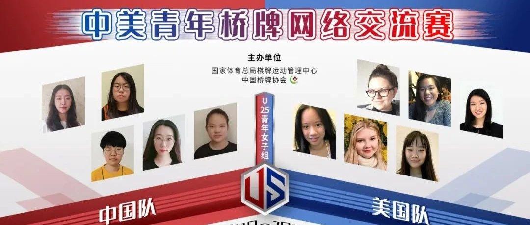 中美青年桥牌网络赛第二轮 中国队64比49美国队