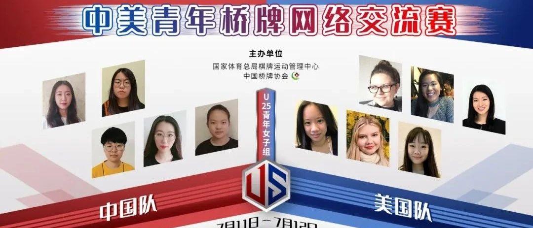 中美青年桥牌网络交流赛第2轮 中国姑娘领先1分