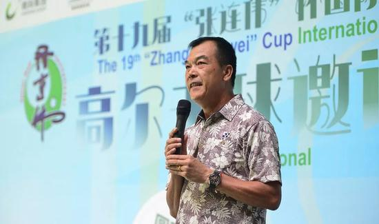 张连伟:为中国高尔夫服务 想圆你们一个奥运梦