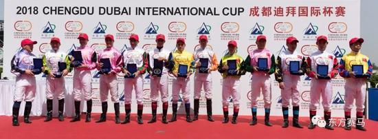 ▲图/Meydan Racing,中外骑师