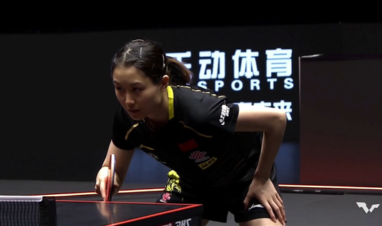 WTT澳门赛刘炜珊3-1徐孝元 连续两个6-1打垮对手
