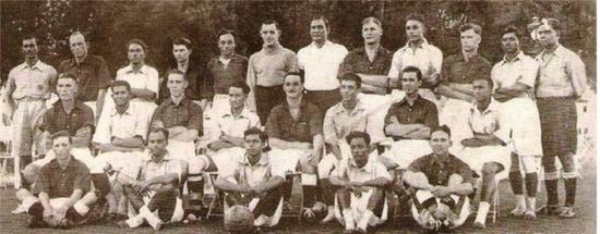 图说:1938年的印度队