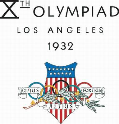 1932年洛杉矶奥运会会徽。
