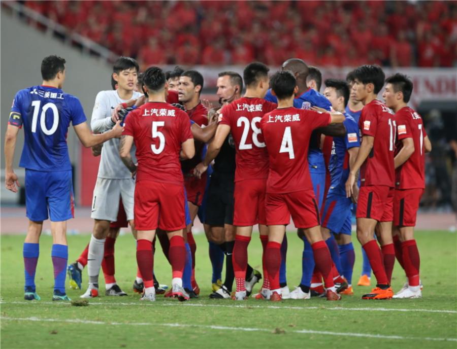 申花偷师大连+上港学世界杯秘笈 上海德比技术含量
