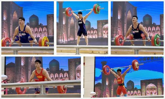 高台实战全面演练 国家举重队全力备战亚锦赛