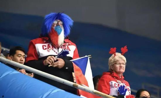 加拿大冰壶迷