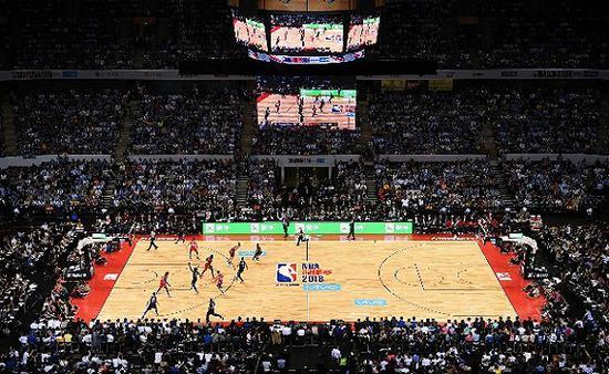 一年一度NBA中国赛。图片来源:视觉中国