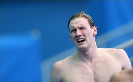 """霍顿""""出局"""" 东京奥运会无缘卫冕400米自由泳"""