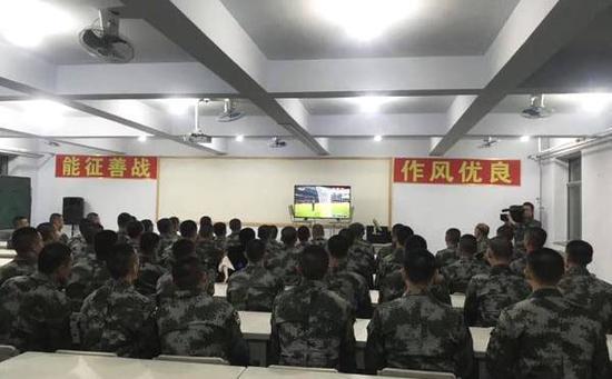 国足集训营球员。