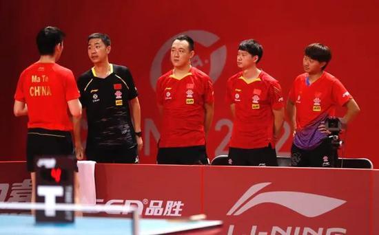 秦志戬:一团必须夺得团体冠军 二团单打表现出色
