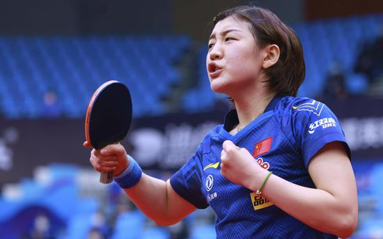 首夺单打世界冠军 陈梦的奥运席位又加了砝码