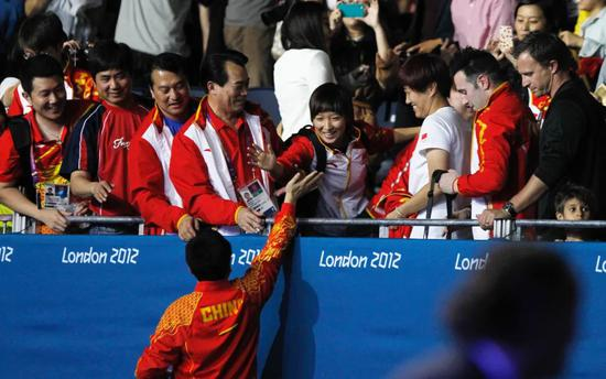 从伦敦P卡到里约团体冠军 刘诗雯未完待续的奥运路