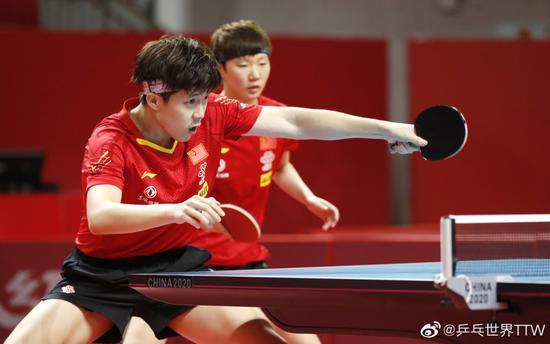 国乒奥运模拟赛实战演练效果佳 混双头号种子出局