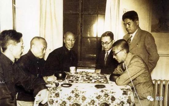 1934年吴清源与段祺瑞对弈