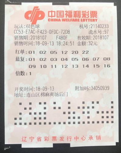 大爷32元中双色球1122万 先不准备告诉家人