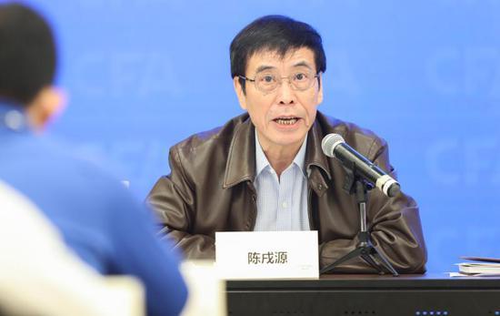 中国足协主席陈戌源 图/新华社