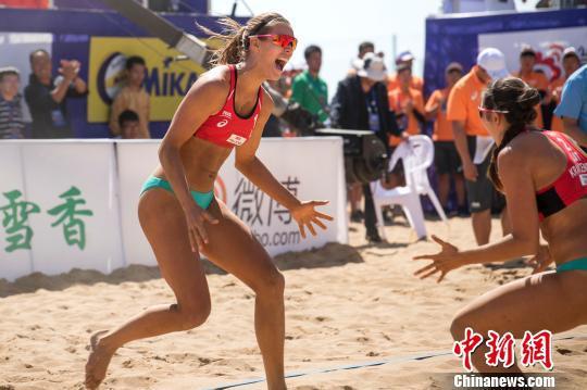 西班牙队、拉脱维亚队双双获得东京奥运会的沙滩排球参赛资格