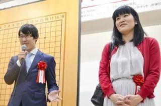 井山裕太七冠,加藤启子六段