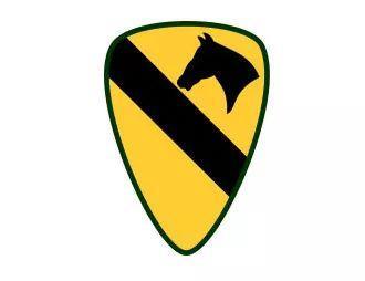 第1骑兵师臂章