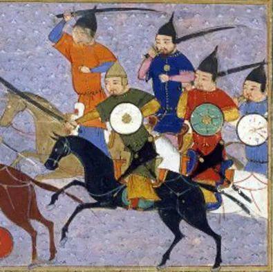 欧洲画家笔下的蒙古骑兵
