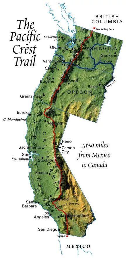 美国·太平洋山脊径·环太平洋