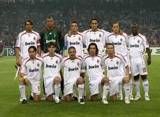 2006-07欧冠决赛AC米兰首发