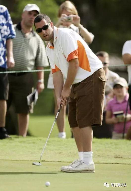 你们拿不到奥斯卡小金人 是不是因为高尔夫打太多?